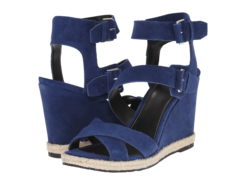 Marc Fisher LTD - Karla (Kings Blue Sport Tamarin) Women's Wedge Shoes