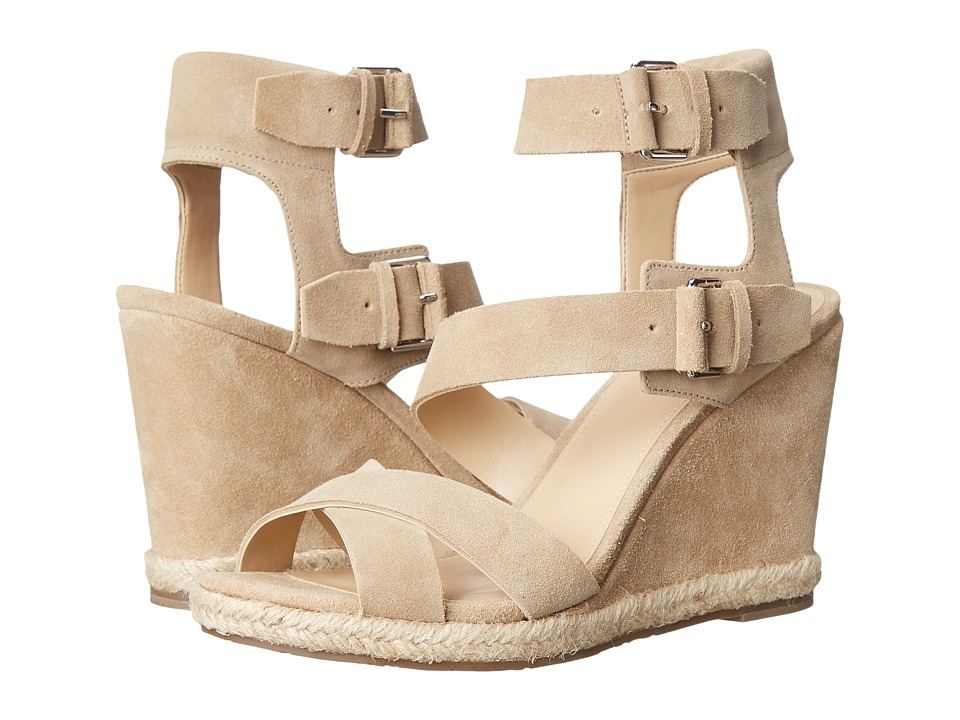 Marc Fisher LTD - Karla (Beige Sport Tamarin) Women's Wedge Shoes