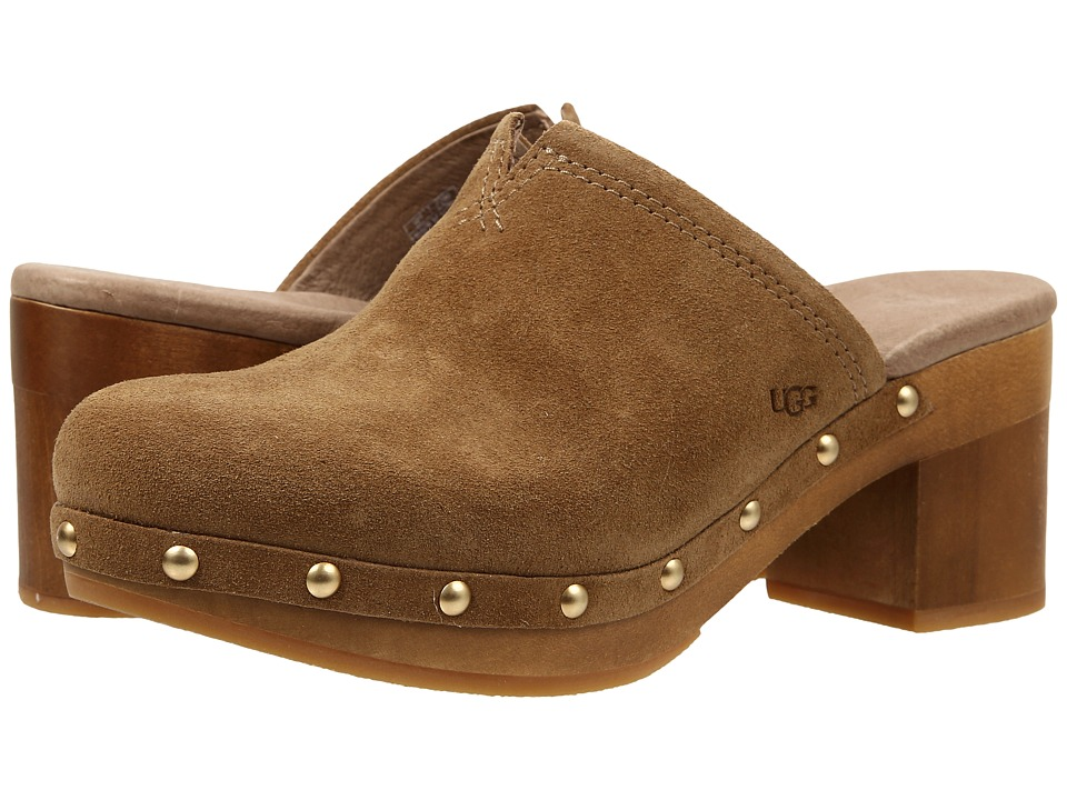UGG - Kay (Chestnut Suede) High Heels