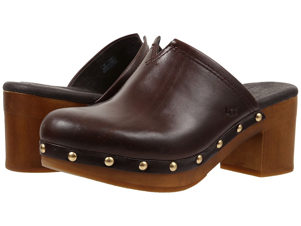 UGG - Kay (Chocolate Leather) High Heels