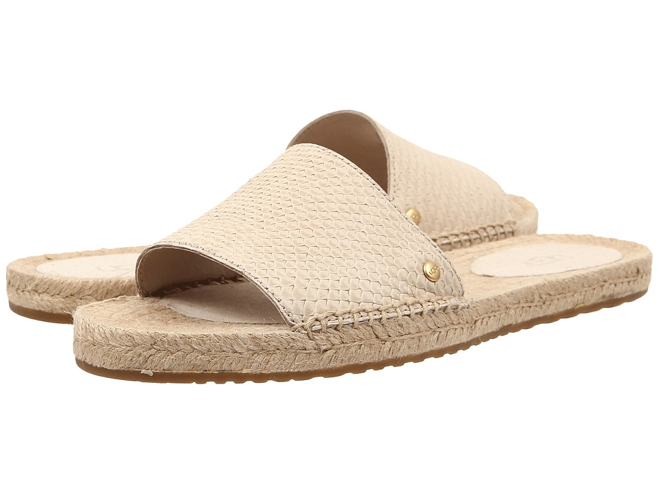 UGG - Cherry Exotic (Cream Leather) Women's Sandals