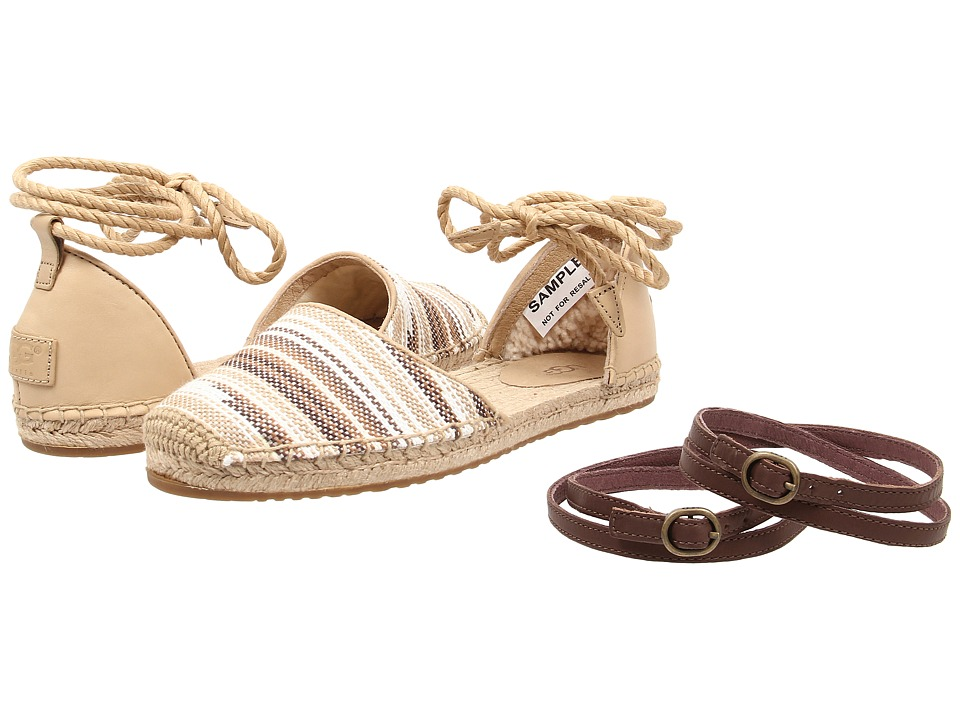 UGG - Libbi Serape (Chestnut Jacquard) Women's Sandals