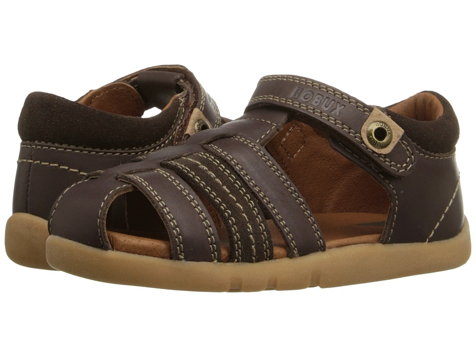 Bobux Kids - I-Walk Classic Roamer (Toddler) (Brown) Boy's Shoes