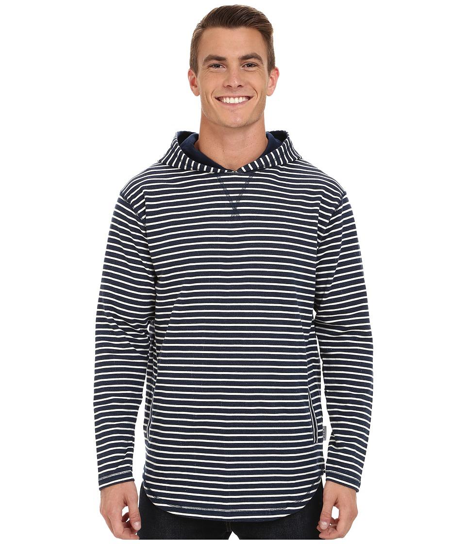 Akomplice - Linea Hoodie SC (Navy) Men's Sweatshirt