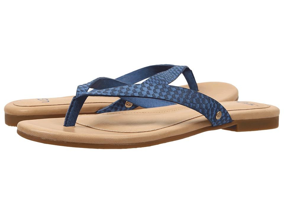 UGG - Allaria II Exotic (Skyline Leather) Women's Slide Shoes