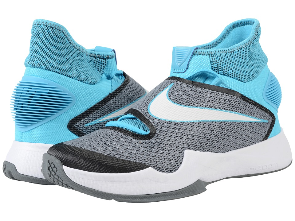 Nike - Zoom Hyperrev 2016 (Omega Blue/Star Blue/White) Men's Basketball Shoes