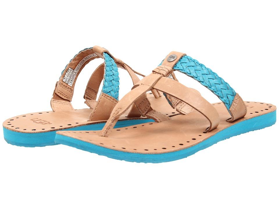 UGG - Audra (Surf Blue Leather) Women's Sandals