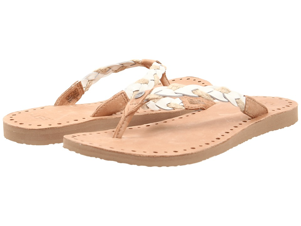 UGG - Navie (White Wall Leather) Women's Sandals