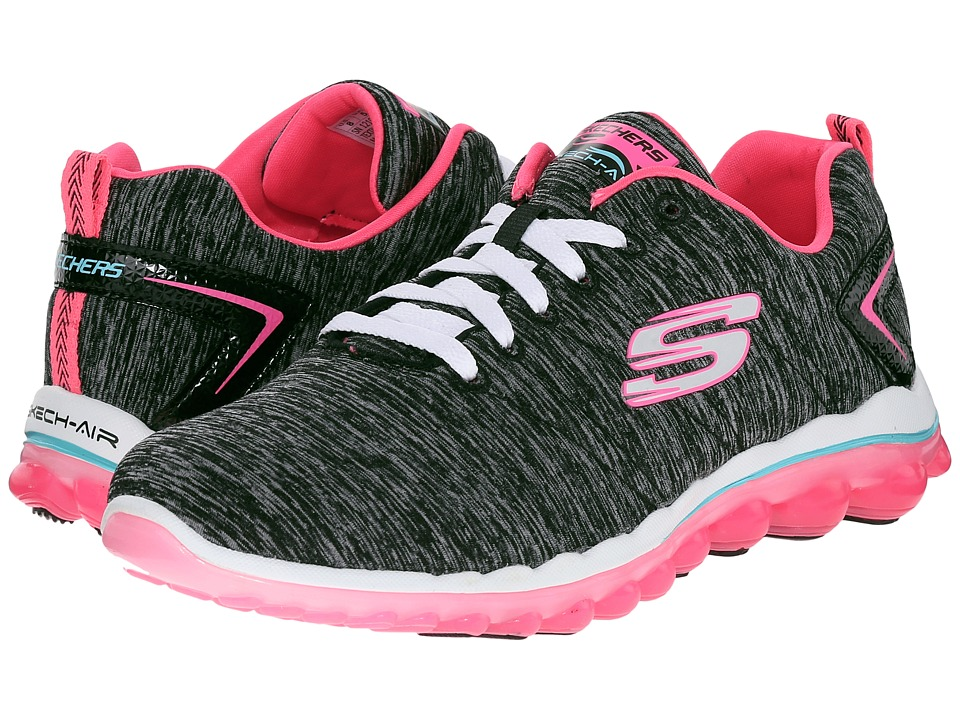 SKECHERS - Skech-Air 2.0 - Sweet Life (Black/Pink) Women's Shoes