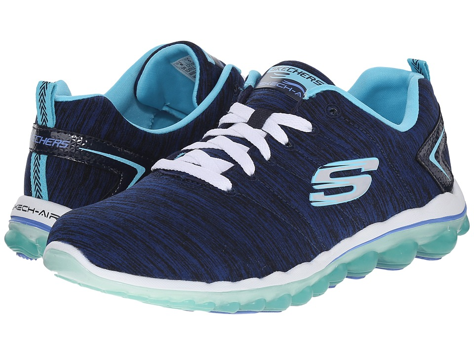SKECHERS - Skech-Air 2.0 - Sweet Life (Navy/Blue) Women's Shoes