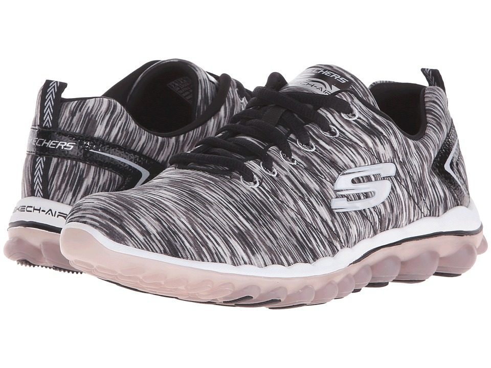 SKECHERS - Skech-Air 2.0 Space (Black/White) Women's Shoes