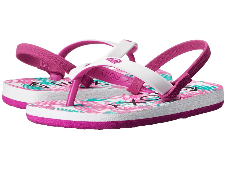 Roxy Kids - Tahiti V (Toddler) (Purple/Pink) Girls Shoes