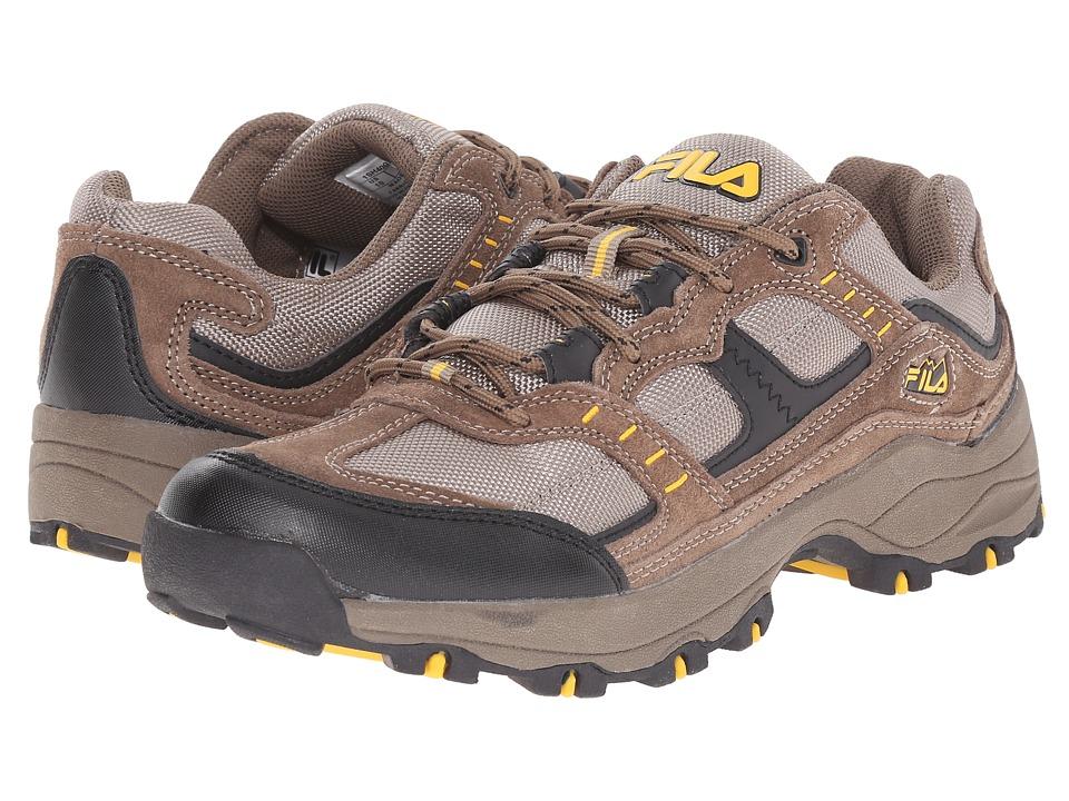 Fila - Country 1 (Brown/Walnut/Gold Fushion) Men's Shoes