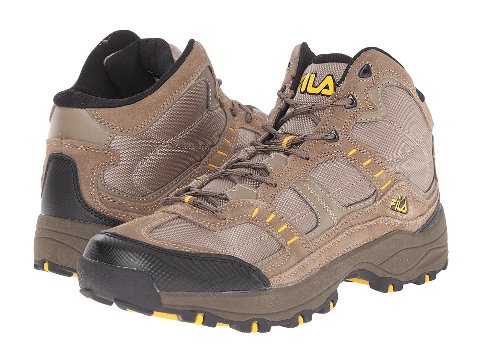 Fila - Country 1 Mid (Walnut/Brown/Gold Fusion) Men