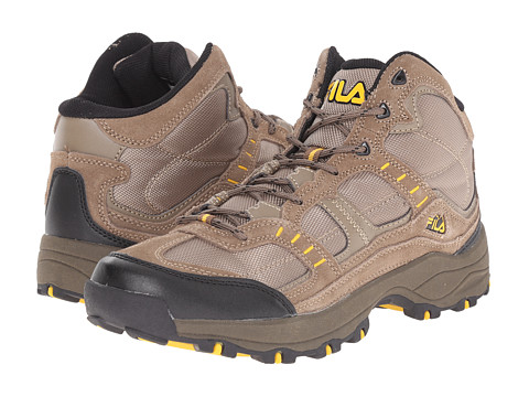 Fila - Country 1 Mid (Walnut/Brown/Gold Fusion) Men's Shoes