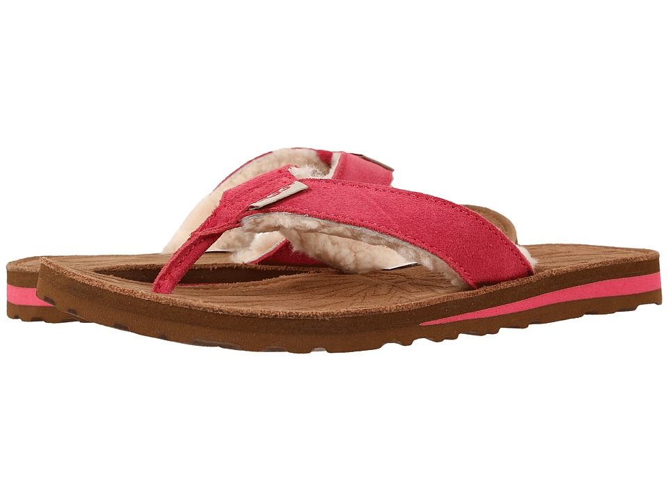 UGG - Tasmina (Sunset Red Suede) Women's Sandals