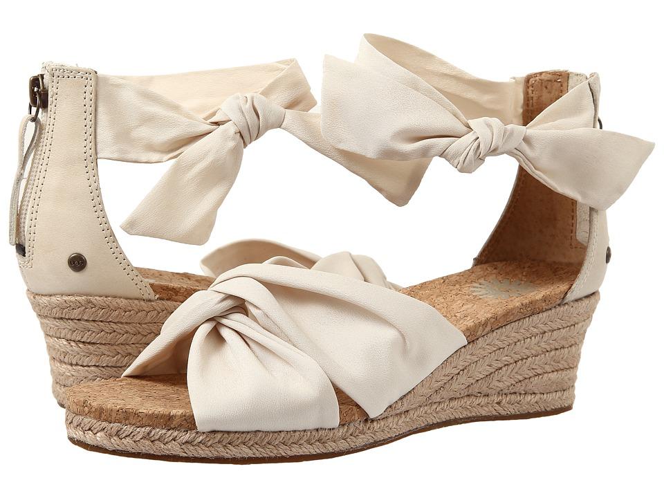 UGG - Starla (Cream Textile) Women's Dress Sandals