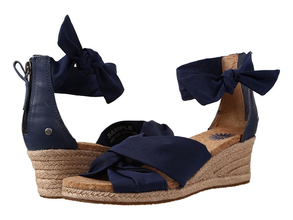 UGG - Starla (Navy Textile) Women's Dress Sandals