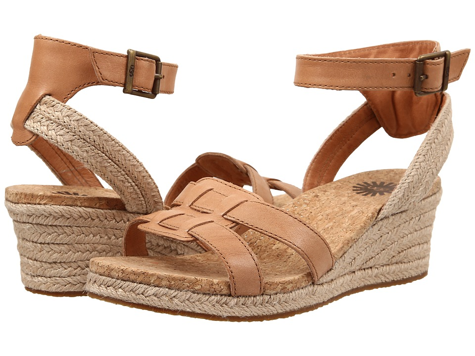 UGG - Maysie (Tawny Leather) Women's Dress Sandals