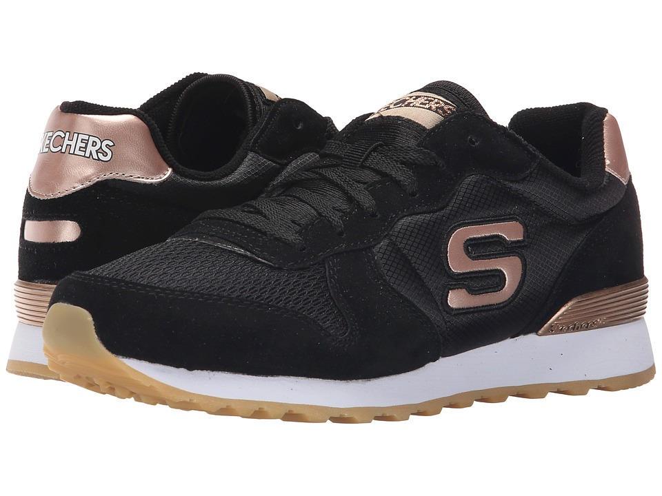 SKECHERS - Retros-OG 85 (Black) Women's Shoes