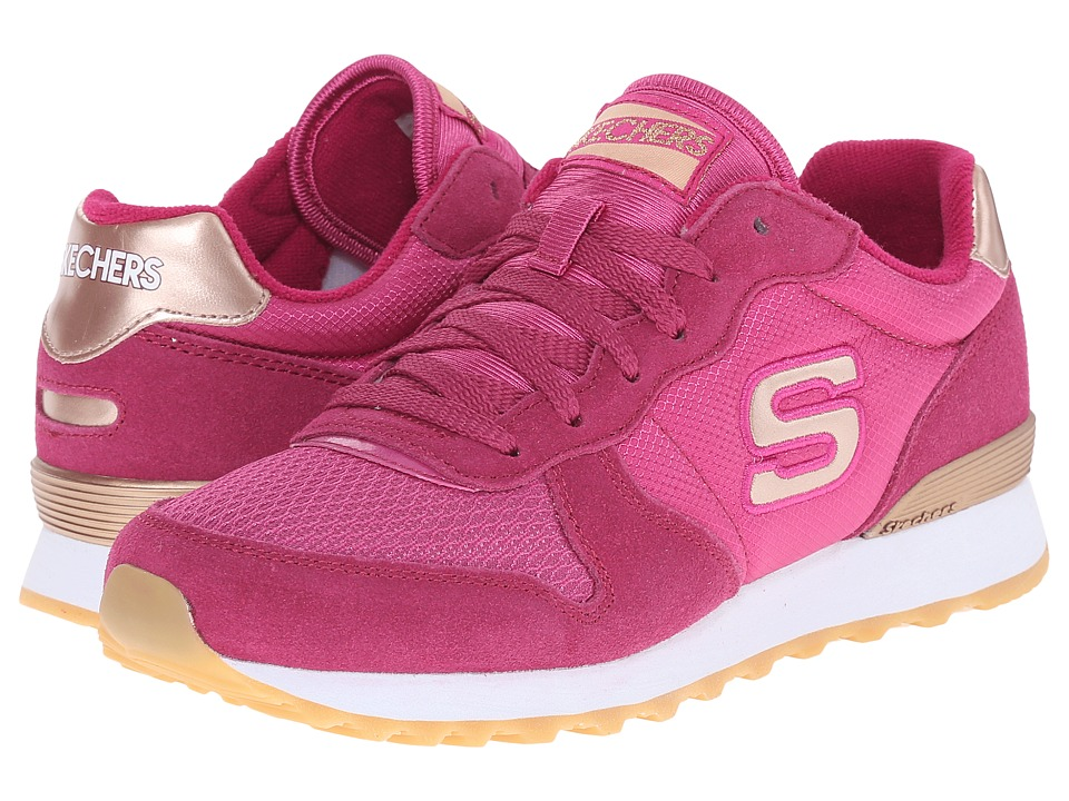 SKECHERS - Retros-OG 85 (Fuchsia) Women's Shoes