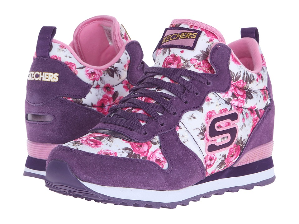 SKECHERS - Retros-OG 1985 (Purple/Pink) Women's Shoes
