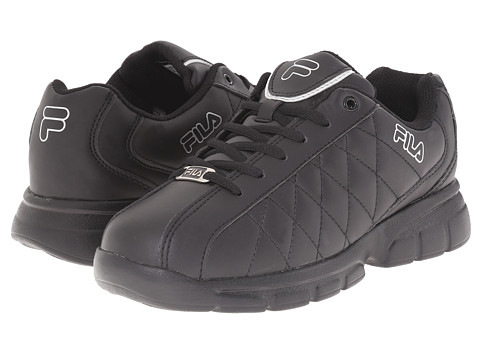 Fila - Fulcrum 3 (Black/Black/Metallic Silver) Women's Shoes