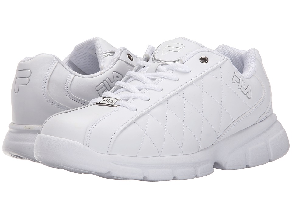 Fila - Fulcrum 3 (White/White/Metallic Silver) Women's Shoes
