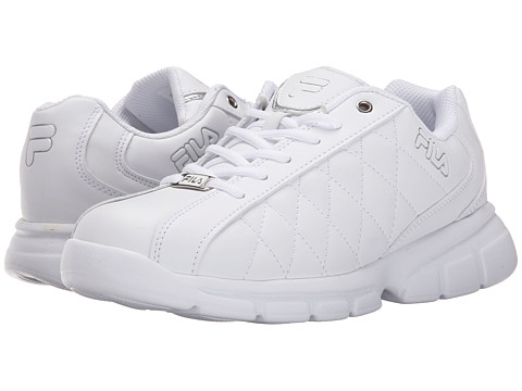 Fila - Fulcrum 3 (White/White/Metallic Silver) Women
