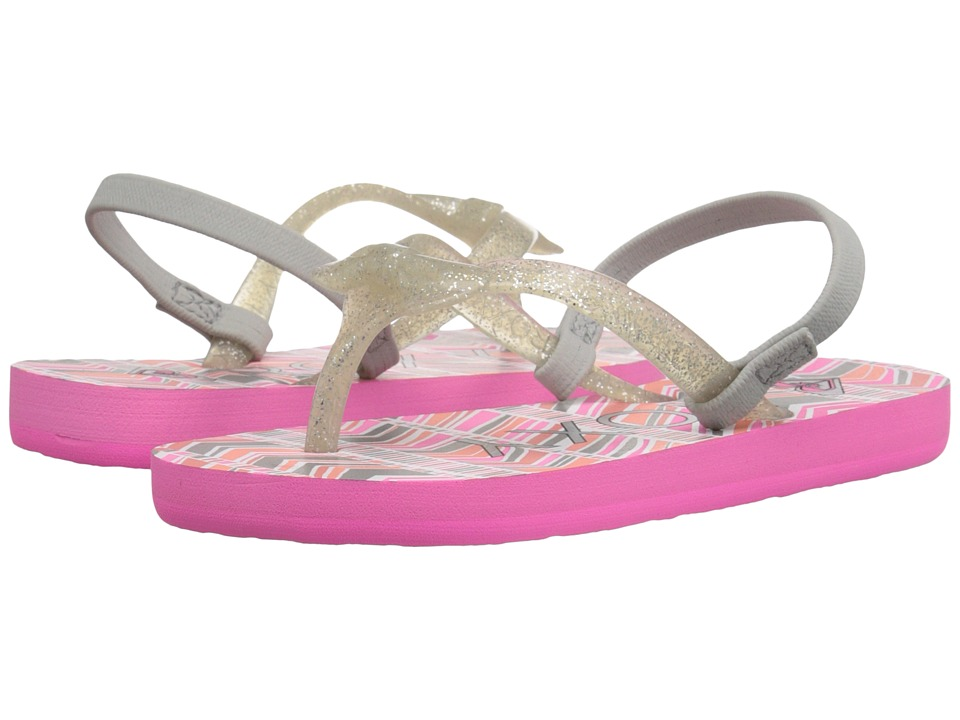 Roxy Kids - Fifi (Toddler) (Pink Carnation) Girls Shoes