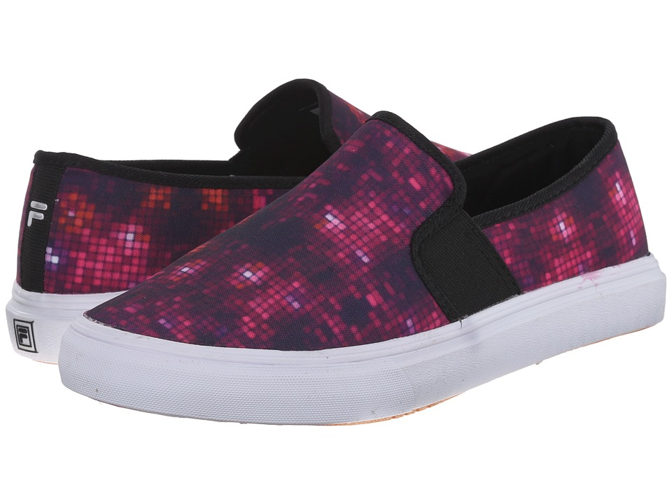 Fila - Memory Fanelli Print (Purple/Black/White) Women