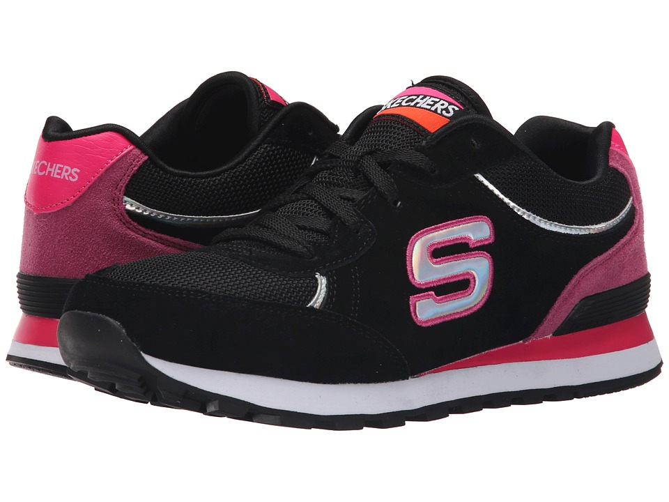 SKECHERS - Retros-OG 82 Mid (Black/Pink) Women's Shoes