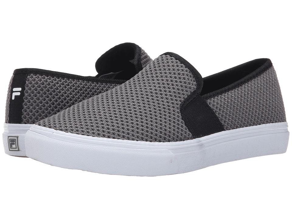 Fila - Memory Fanelli Mesh (Castlerock/Black/White) Women's Shoes
