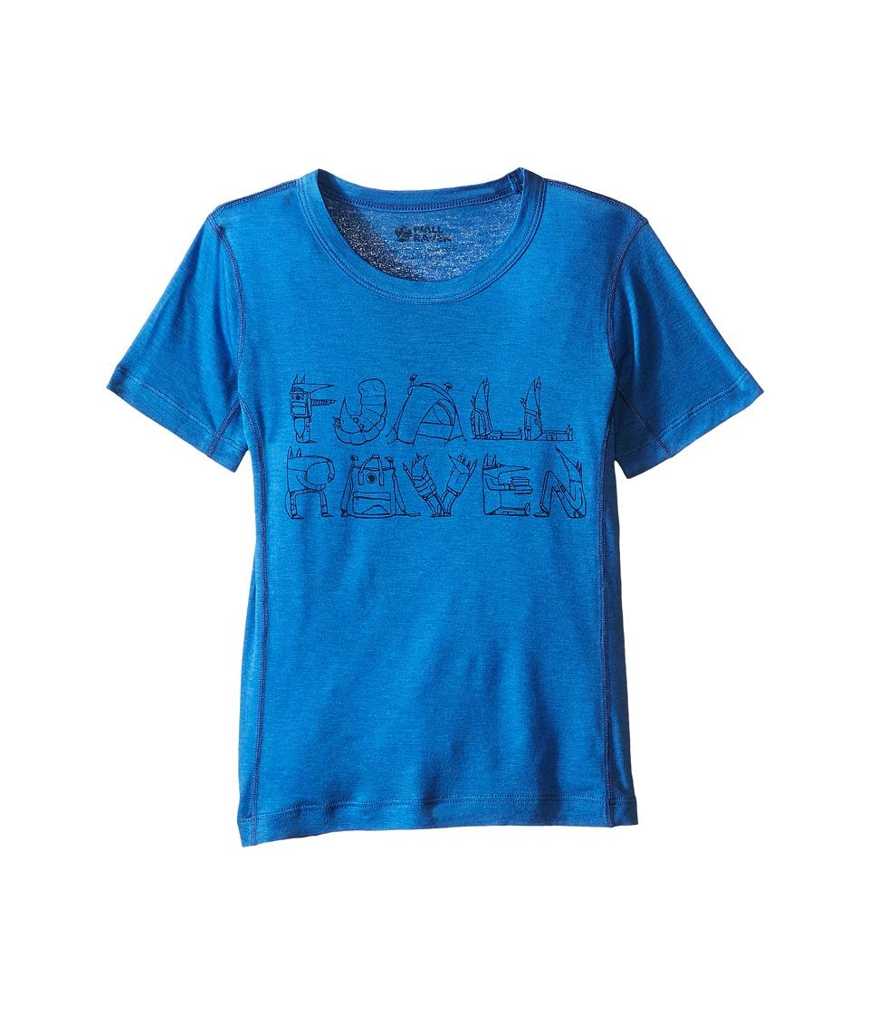 Fjallraven Kids - Kids Trail T-Shirt (Uncle Blue/Navy) Kid's T Shirt