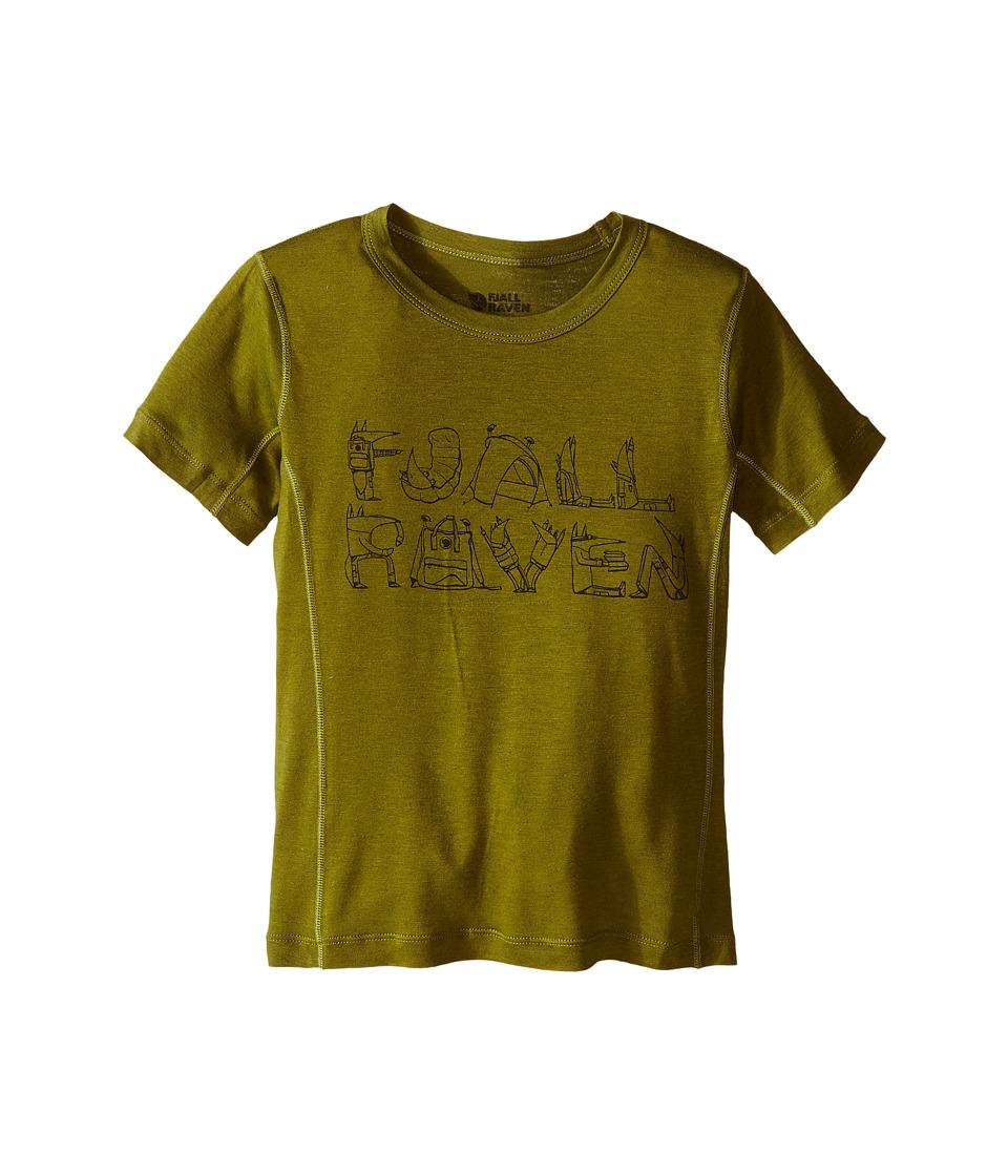 Fjallraven Kids - Kids Trail T-Shirt (Avocado/Dark Olive) Kid's T Shirt