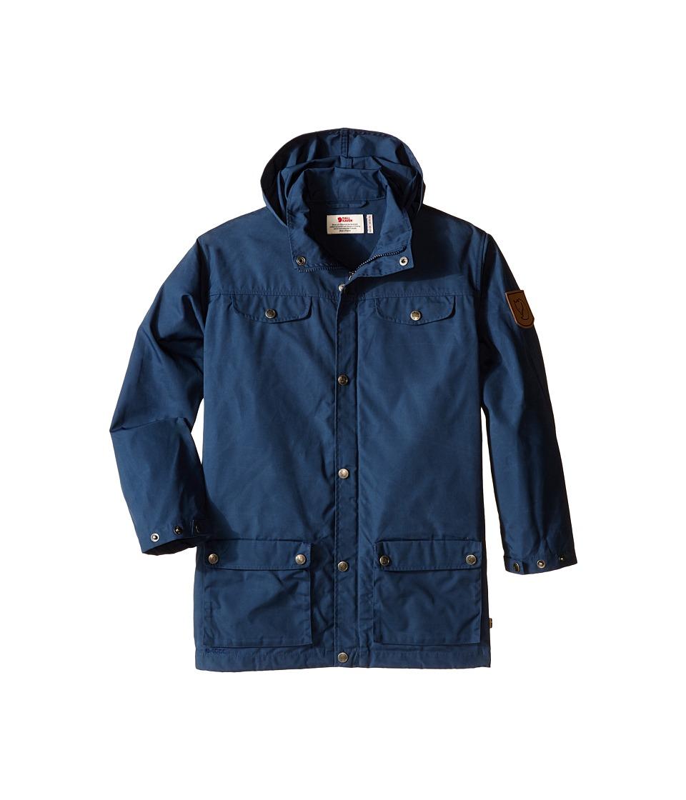 Fjallraven Kids - Kids Greenland Jacket (Uncle Blue) Kid's Coat