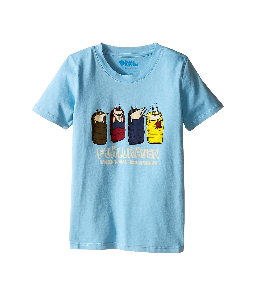 Fj llr ven Kids - Kids Sleeping Foxes T-Shirt (Bluebird) Kid's T Shirt