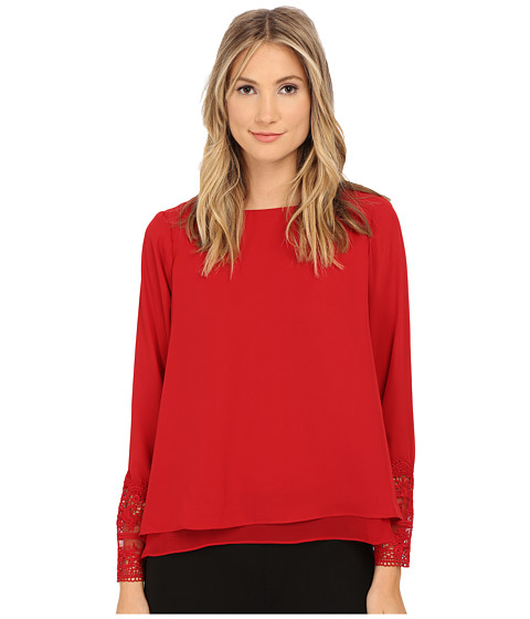 rsvp - Bellamy Blouse (Red Velvet) Women