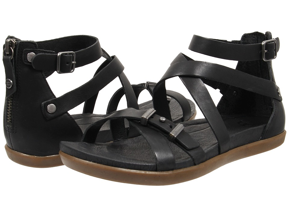UGG - Cherie (Black Leather) Women's Dress Sandals