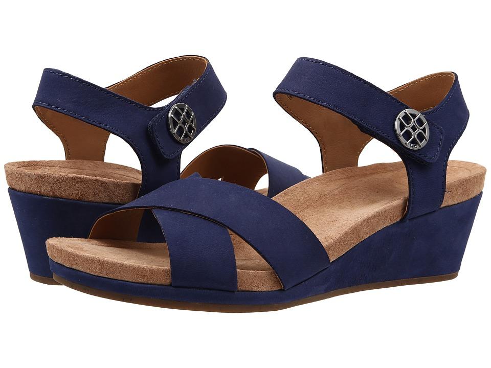 UGG - Veva (Navy Nubuck) Women's Wedge Shoes