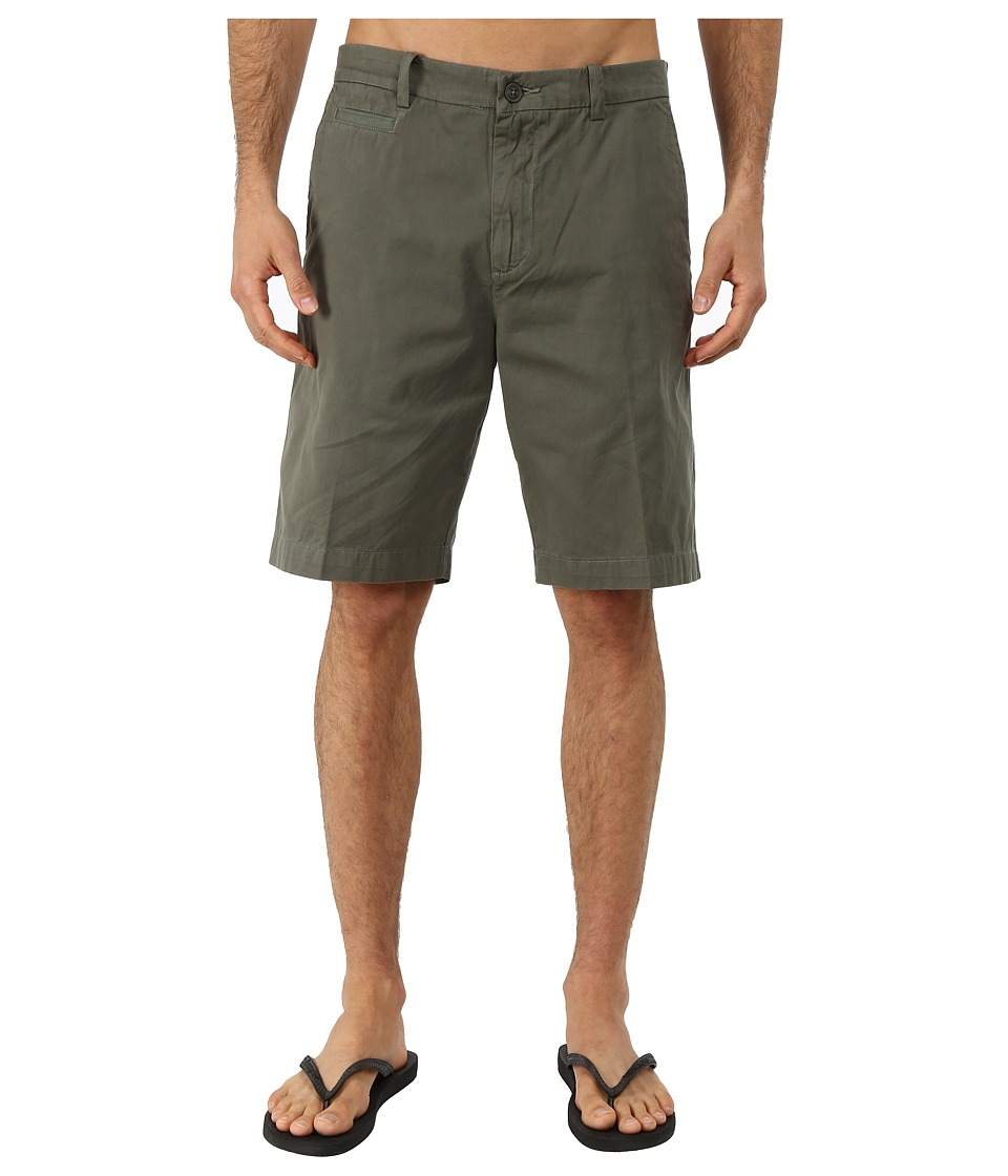 Quiksilver Waterman - Down Under 4 Cotton Walkshorts (Grape Leaf) Men