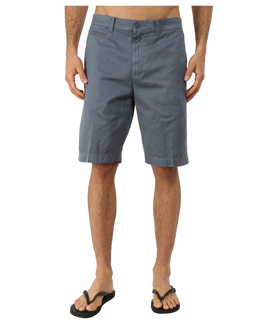 Quiksilver Waterman - Down Under 4 Cotton Walkshorts (Dark Slate) Men's Shorts