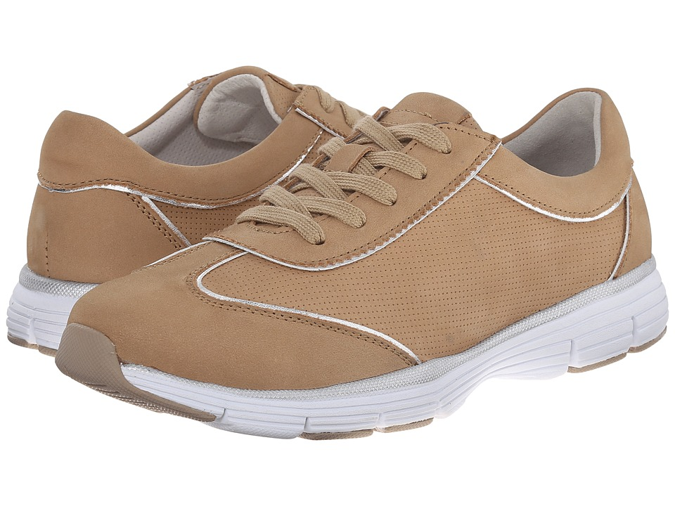 Alivio - Sheila (Taupe) Women's Lace up casual Shoes