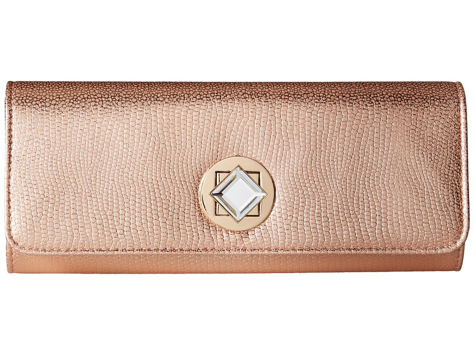 Jessica McClintock - Carmela Clutch (Blush) Clutch Handbags