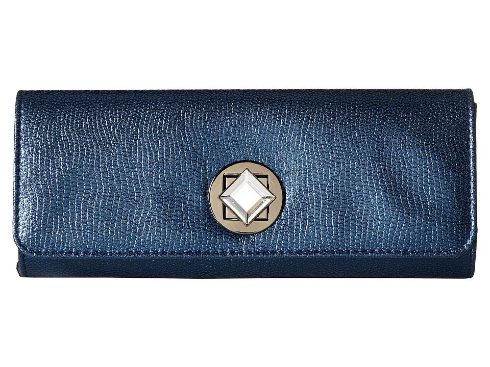 Jessica McClintock - Carmela Clutch (Navy) Clutch Handbags
