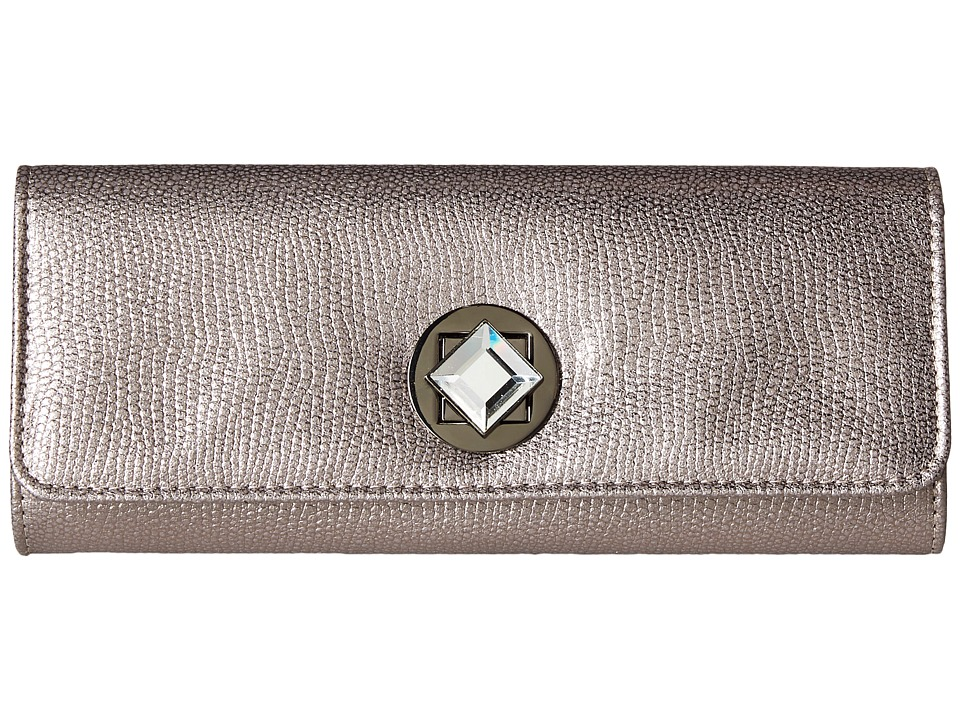 Jessica McClintock - Carmela Clutch (Pewter) Clutch Handbags