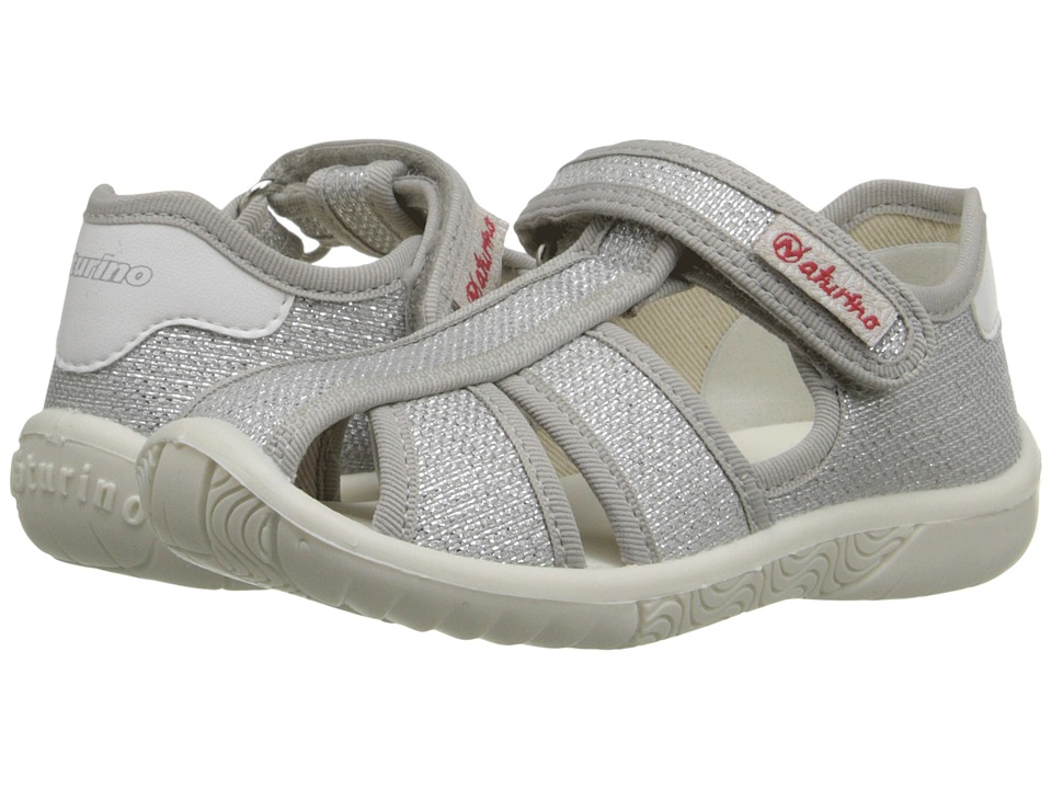 Naturino - Nat. 7785 SS16 (Toddler/Little Kid) (Silver) Girls Shoes