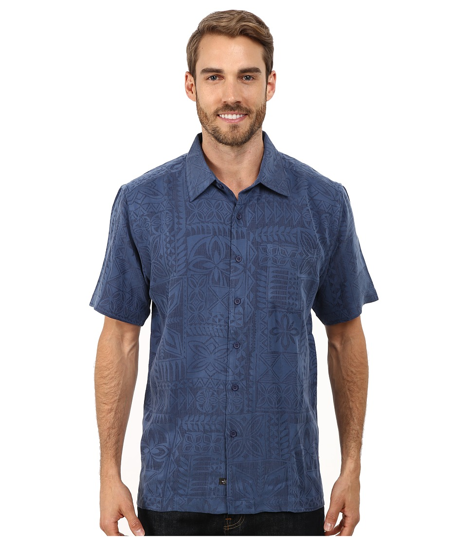 Quiksilver Waterman - Aganoa Bay 4 Woven Top (Scuba) Men's Clothing