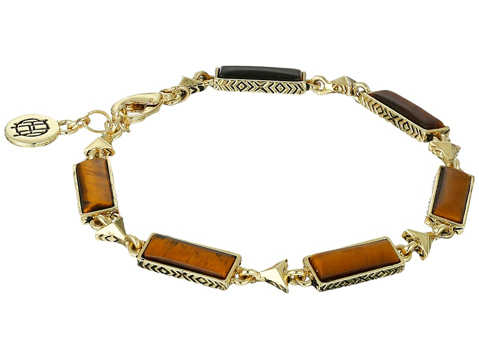 House of Harlow 1960 - Clear Creek Bracelet (Gold) Bracelet