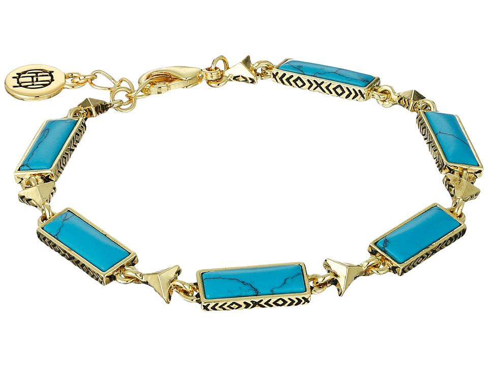House of Harlow 1960 - Clear Creek Bracelet (Turquoise) Bracelet